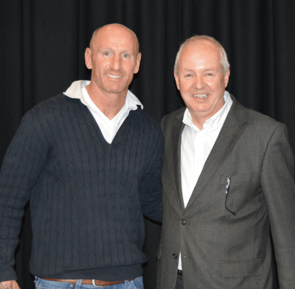 Kevin Harrington and Gareth Thomas