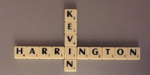 Kevin Harrington, name in Scrabble