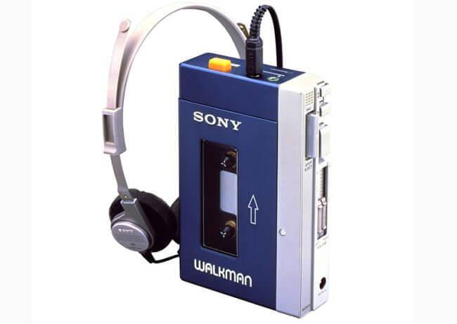 Sony Walkman, 1979
