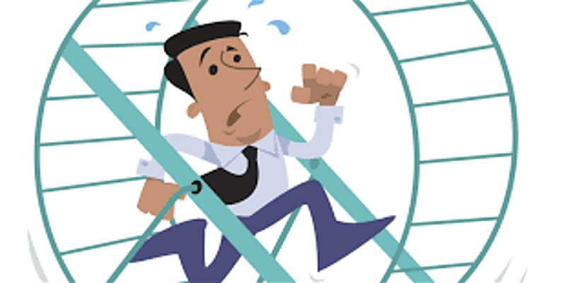 Has the Hamster Wheel of Business Stopped?