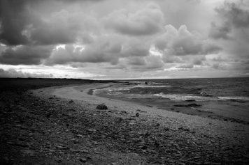 A beach on Fårö