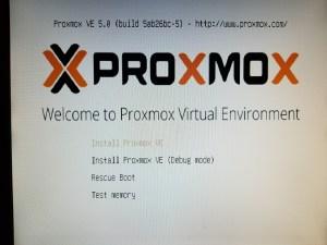 Proxmox installation on a 2008 Mac Pro – Kev's Development Toolbox