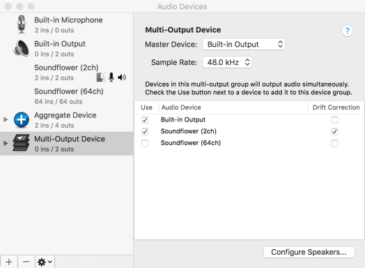 Piping audio between applications: Configuring ham radio apps on Mac