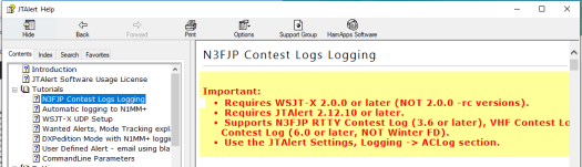 Configuring WSJT-X to log to N3FPJ for ARRL Field Day (part