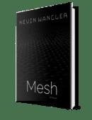 Mesh book cover mockup