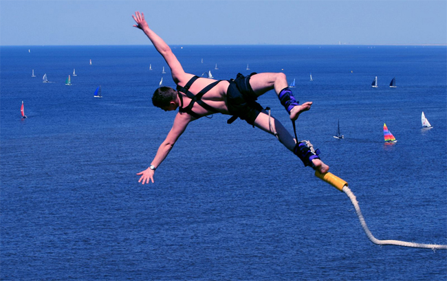 Go Bungie Jumping