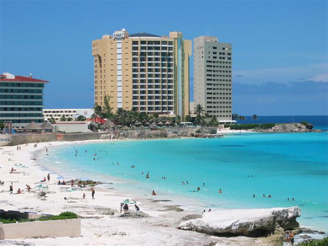 Cancun-Beach, Mexico