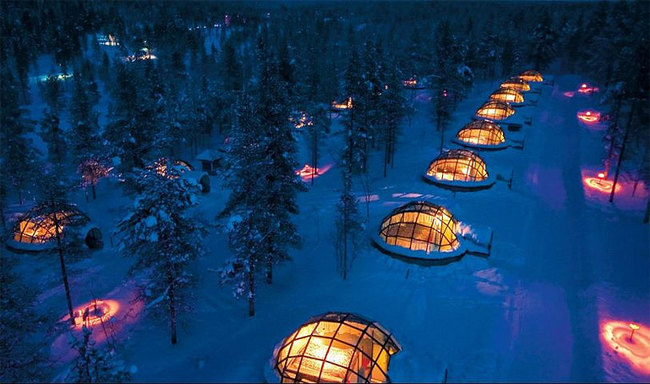 Vacation in Igloo Village