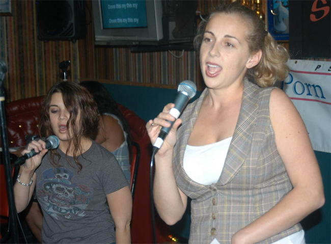 Sing to an Audience (Karaoke Counts)