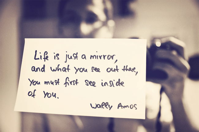 Life is Just a Mirror
