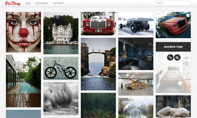 PinStrap WordPress Theme