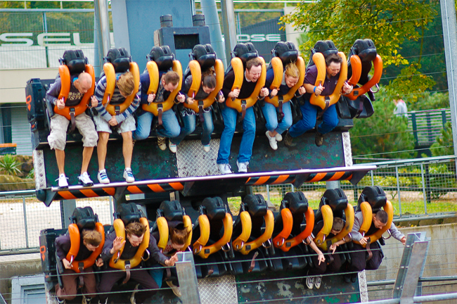 Ride a Rollercoaster