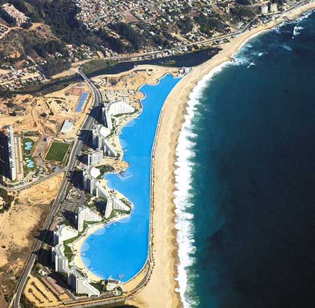 Swim in the World's Largest Swimming Pool