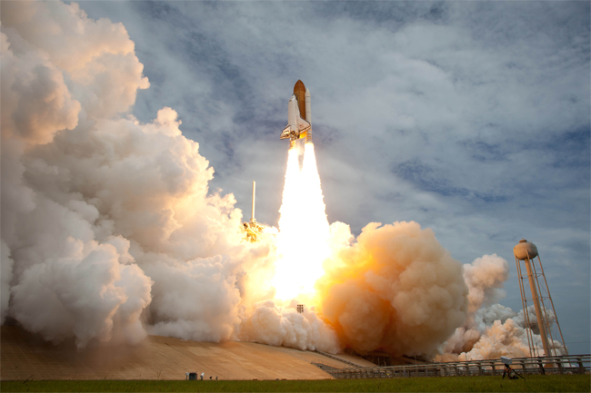 Watch a Space Shuttle Launch