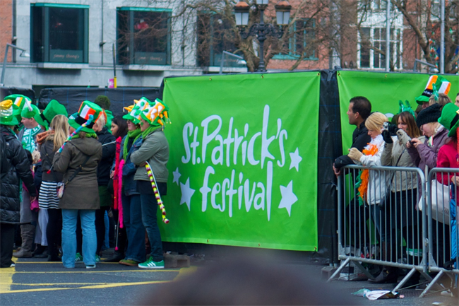 Celebrate St. Patrick's Day in Dublin, Ireland