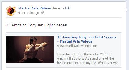 Facebook Thumbnail Working