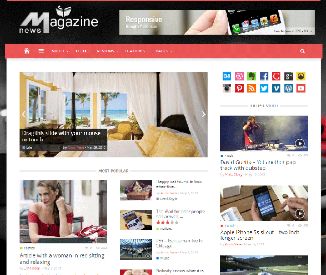 Magazinly WordPress Theme