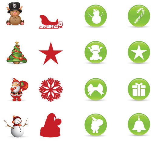Smashing Christmas Icon Set