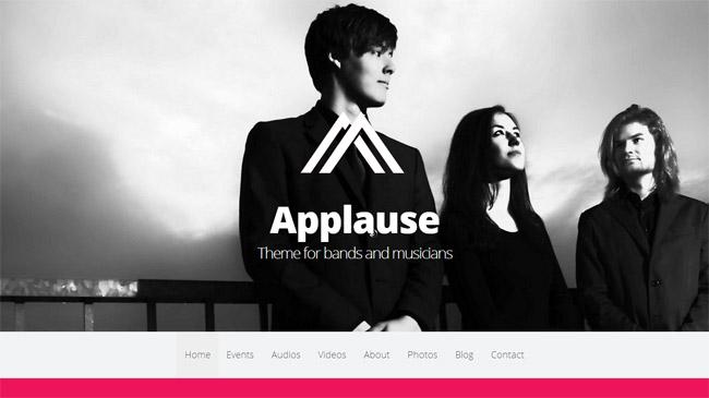 Applause WordPress Theme
