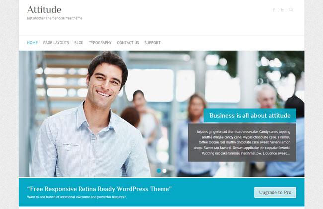 Attitude WordPress Theme