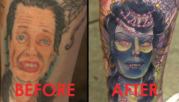 Stephanie Buscemi Tattoo