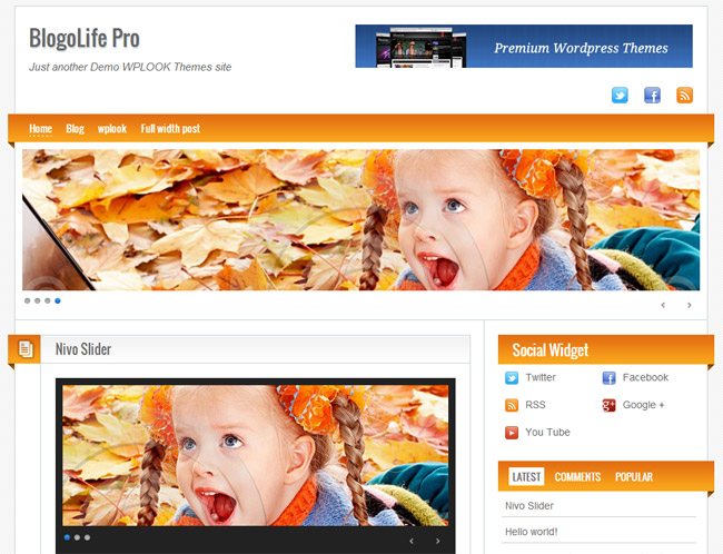 Blogolife WordPress Theme