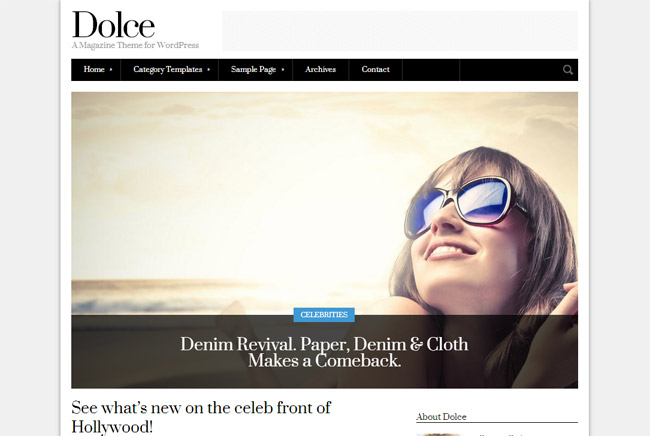 Dolce WordPress Theme