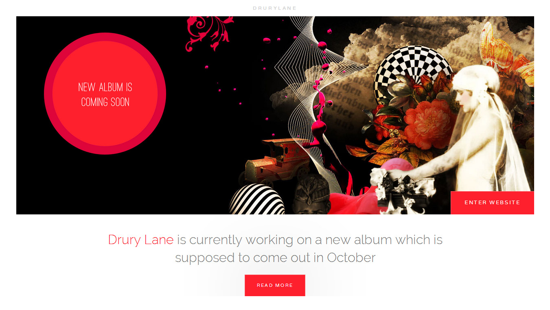 Drury Lane WordPress Theme