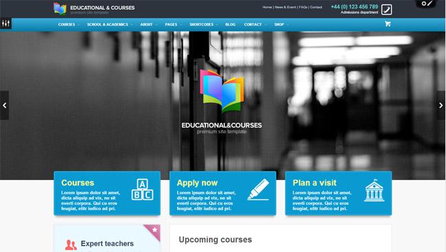 EDU WordPress Theme