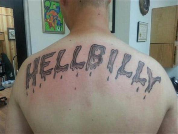 Hello Billy Bad Tattoo
