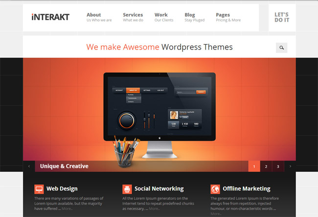 Interakt WordPress Theme