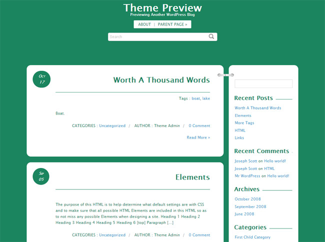 Journal Box WordPress Theme