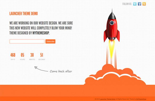 Launcher WordPress Theme