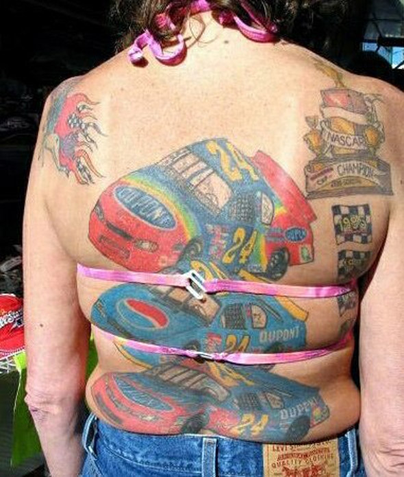 Nascar Champion Tattoo