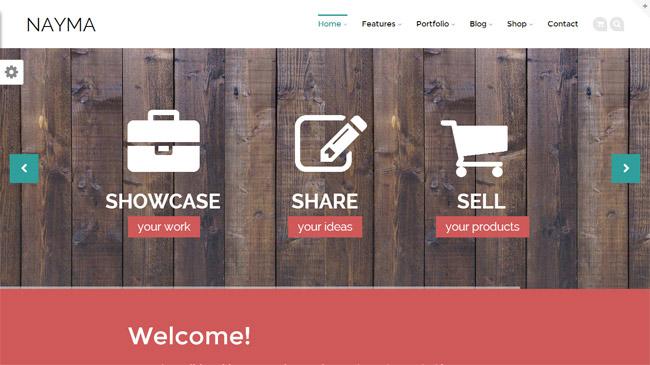 Nayma WordPress Theme