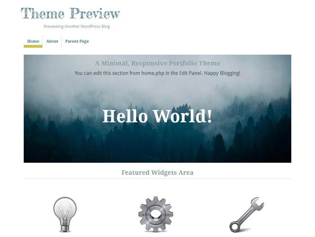 Pilot Fish WordPress Theme
