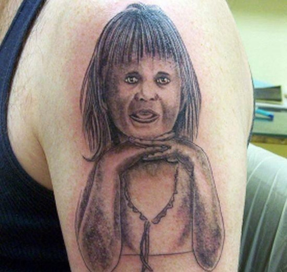Regan Teresa MacNeil Tattoo