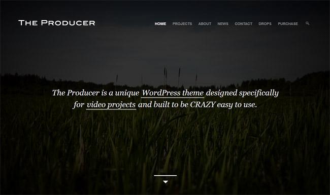 The Producer WordPress Theme