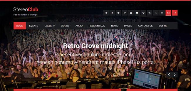StereoClub WordPress Theme