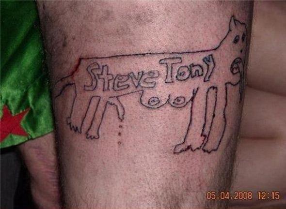 Dog Lover Tattoo