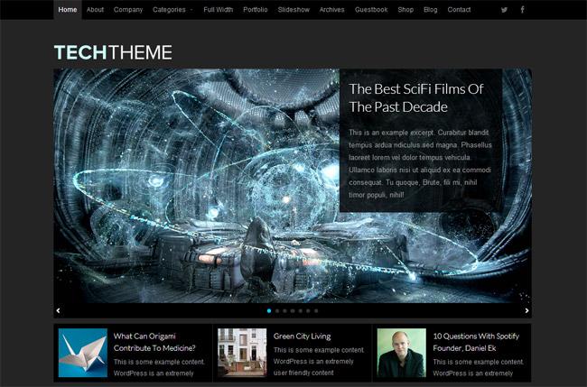 Tech WordPress Theme