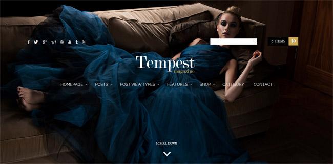 Tempest WordPress Theme
