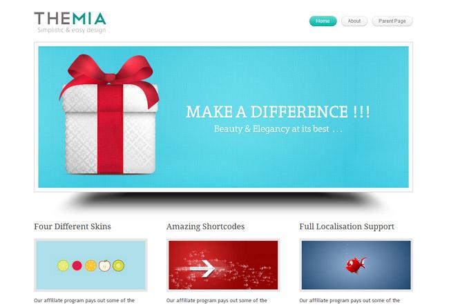 Themia Lite WordPress Theme