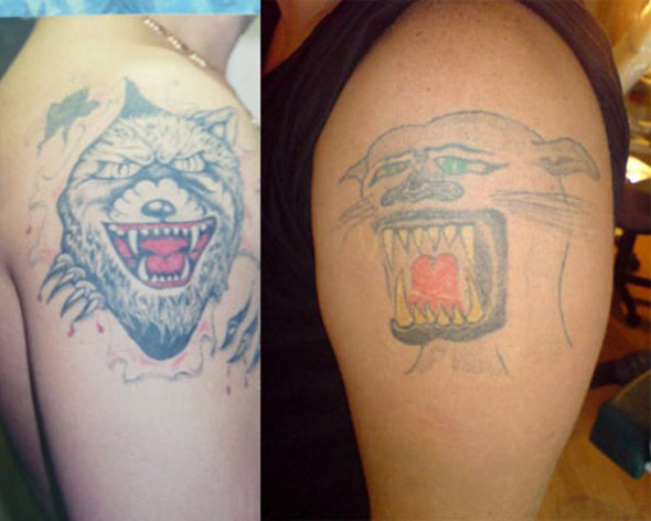 The Wolfpack Tattoos