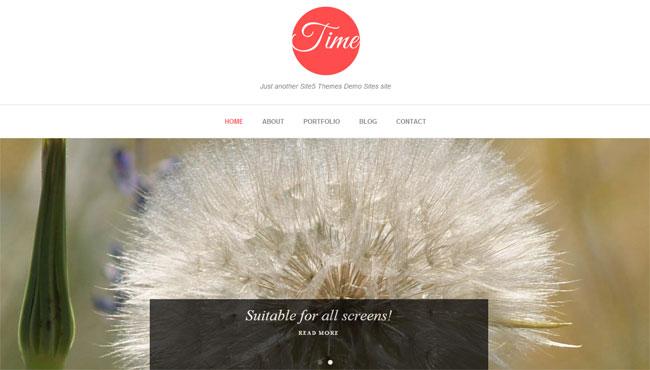 Time WordPress Theme
