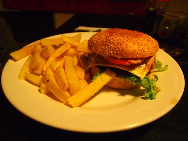 Veggy Burger in Cuenca