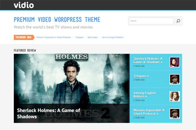 Vidio WordPress Theme