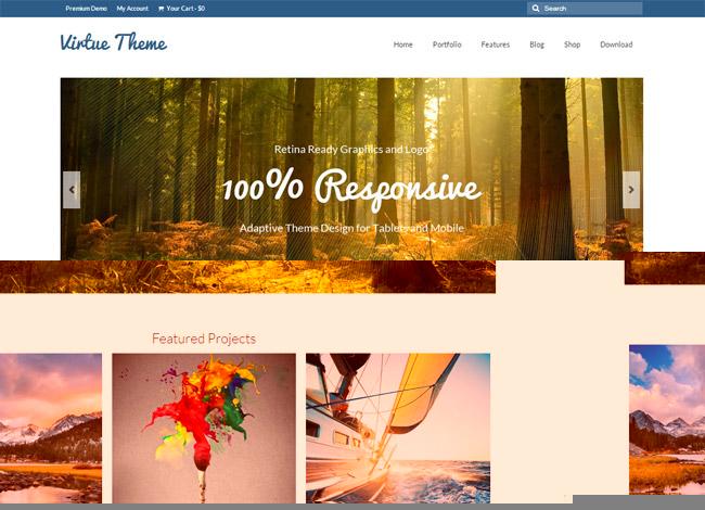 Virtue WordPress Theme