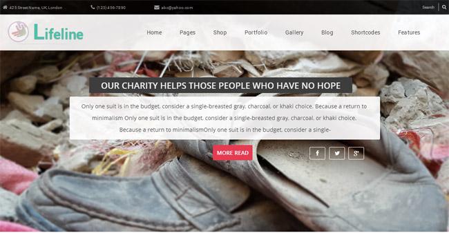 Lifeline WordPress Theme