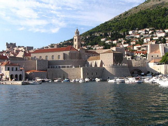 Old harbour, Dubrovnik, Croatia